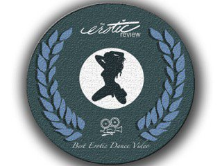 the erotic review best erotic dance video award seal